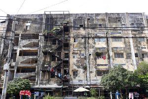 Phập phồng hiểm họa cháy nổ chung cư tuổi 'cụ' ở TP.HCM
