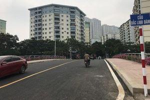 Hà Nội: Khánh thành cầu Bắc Linh Đàm vượt sông Tô Lịch
