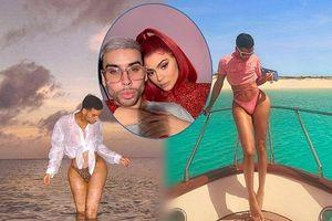 Dân mạng bất ngờ với thợ trang điểm nóng bỏng của em gái Kim Kardashian