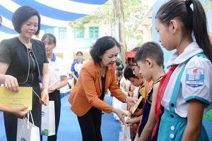 780 học sinh khó khăn tại Thái Nguyên được nhận 70.000 ly sữa