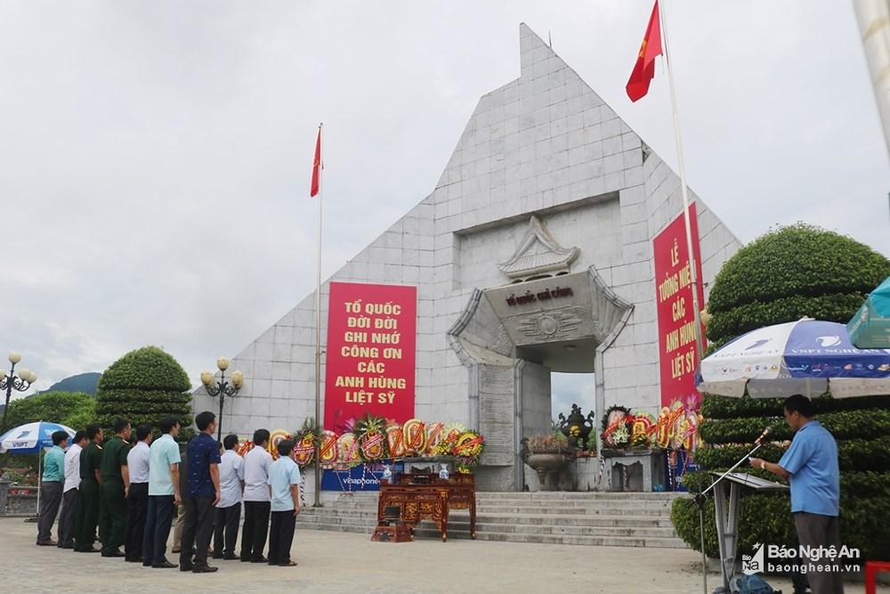 Khai lễ cầu siêu tri ân các anh hùng liệt sỹ nhân ngày 27/7