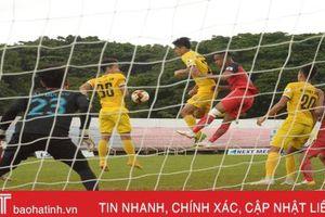 Hồng Lĩnh Hà Tĩnh thắng đẹp Đắk Lắk với tỷ số 2 - 0