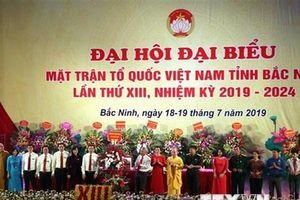 Ông Nguyễn Đình Lợi tái đắc cử Chủ tịch Ủy ban Mặt trận tỉnh Bắc Ninh