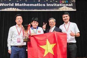 32 học sinh Việt Nam giành giải toán quốc tế WMI 2019