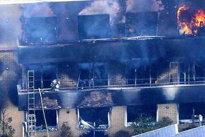 Hỏa hoạn thảm khốc tại studio phim hoạt hình Nhật Bản do phá hoại