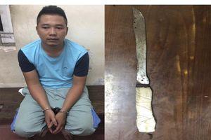 Bị công an Hà Nội tóm gọn khi vừa cướp được 100 triệu từ cửa hàng Viettel