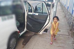 Chuyện con gái nhỏ trông cho ba làm nghề lái taxi ngủ trong xe và câu nói 'lâu rồi con không gặp má' khiến chị em xúc động
