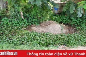 Xã Quảng Phú: Kênh thoát nước ô nhiễm nghiêm trọng