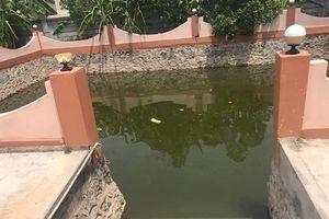Nghệ An: Sảy chân rơi xuống ao, chị đuối nước, em nguy kịch