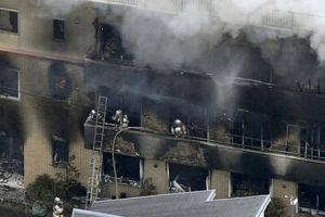 Cháy xưởng phim Nhật 33 người chết: Nghi phạm tới nhà dân cầu cứu sau khi phóng hỏa