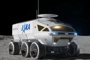 Toyota phát triển xe tự hành sử dụng trên mặt trăng