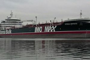 Iran giải thích việc giam giữ tàu chở dầu của Anh ở eo biển Hormuz
