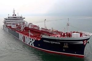 ISNA: Tàu chở dầu treo cờ Anh bị Iran bắt không chở hàng hóa
