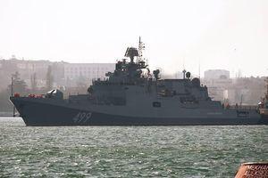 'Nín thở' ngắm tàu chiến Nga phô diễn sức mạnh, bắn hạ tên lửa hành trình ở Biển Đen