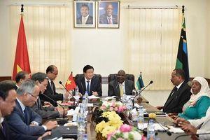 Việt Nam mong muốn mở rộng hợp tác cùng có lợi với Tanzania