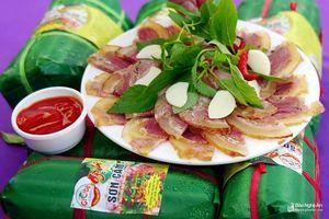Ấn tượng giò bê Sơn Cẩm tại Festival Văn hóa ẩm thực du lịch quốc tế Nghệ An