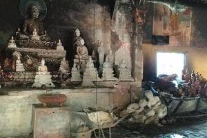 Kiên Giang: Cháy lớn ở chùa Tà Bết, thiệt hại gần 500 triệu đồng