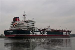 Pháp, Đức kêu gọi Iran thả tàu của Anh