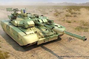 Ukraine tuyên bố xe tăng T-84 Oplot vượt trội so với T-90MS Nga