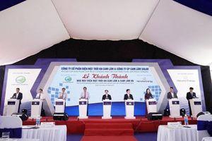 Khánh thành Dự án nhà máy năng lượng mặt trời lớn nhất tỉnh Khánh Hòa