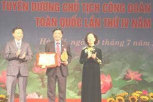 10 cán bộ Công đoàn vinh dự nhận giải thưởng Nguyễn Văn Linh lần thứ I