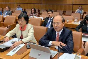 Việt Nam tích cực tham gia xây dựng các quy định về thương mại quốc tế