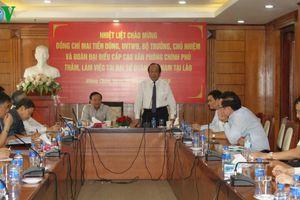 Văn phòng Chính phủ sẽ hành động tích cực thúc đẩy quan hệ Việt - Lào