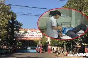 Bác sĩ đánh nhân viên điều dưỡng Trung tâm Y tế huyện ở Bình Định nhập viện
