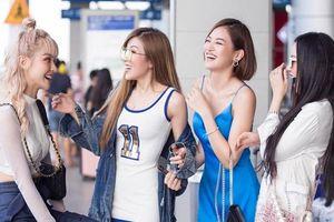 Băng Di, Trang Pháp, Thùy Anh cùng MLee hào hứng đi Singapore cổ vũ Tottenham