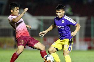 Quang Hải ghi bàn, kiến tạo trong trận thắng đậm của CLB Hà Nội