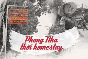 Phong Nha thời homestay