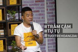 Nguyễn Ngọc Thạch đỏ mắt kể về tự tử trầm cảm