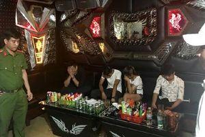 Phát hiện 47 đối tượng sử dụng ma túy trong quán karaoke