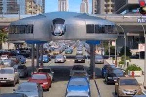 Nga thiết kế 'siêu xe khổng lồ' di chuyển trên cao
