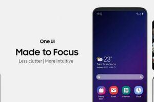Giao diện Samsung One UI 2.0 sẽ đi kèm các tính năng hàng đầu của Android Q