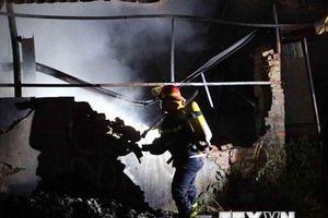 Hải Dương: Cháy tại Công ty may mặc Makalot Việt Nam