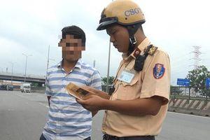 TP.HCM: Hơn 2.000 trường hợp vi phạm giao thông trong 5 ngày CSGT ra quân tổng kiểm tra