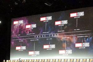 Toàn cảnh SDCC 2019: Marvel công bố tất cả bộ phim sẽ xuất hiện trong giai đoạn 4 của MCU