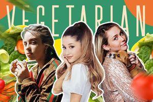 Ariana Grande, Miley Cyrus, Billie Eilish và loạt sao Hollywood chọn ăn chay vì…