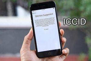 Người dùng iPhone Lock than trời vì bị Apple chặn ICCID
