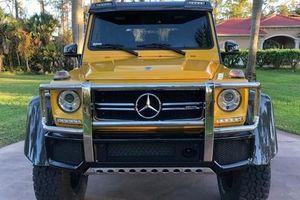 Chiêm ngưỡng 'quái vật' 6 bánh Mercedes-AMG G63 6x6 của đại gia Hà Nội