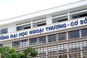 Điểm chuẩn năm 2019 của Đại học Ngoại thương TP HCM