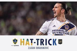 Cú hat-trick 'siêu đẳng' ở tuổi 37 của Zlatan Ibrahimovic
