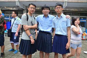 Trường trung học Đài Loan đầu tiên cho phép nam sinh mặc váy tới lớp