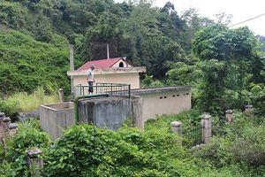 Sớm khắc phục tình trạng bỏ hoang công trình cấp nước tiền tỷ