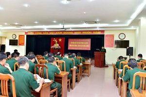 Cơ quan Tổng cục Chính trị tổ chức bồi dưỡng kiến thức quốc phòng an ninh