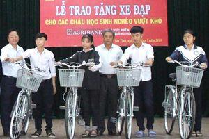 Học trò nghèo và chiếc xe đạp ước mơ