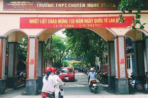 Trường Chuyên Hùng Vương – Phú Thọ 2 năm liên tiếp có thủ khoa toàn quốc