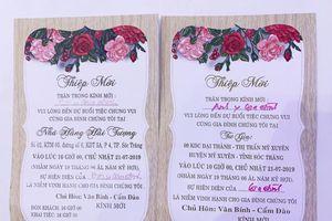 Trưởng đoàn Đại biểu Quốc hội Sóc Trăng tổ chức đám cưới con 3 ngày, 4 tiệc?