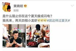 Huỳnh Hiểu Minh giảm cân thất bại vì món ăn mà Angelababy cực ghét